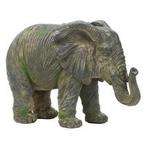 Accent Plus Elephant Decor, Decorative Elephants, Silver Statue Elephant Decor F - $53.99