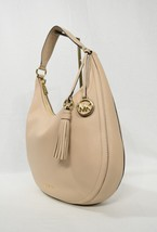 NWT Michael Kors Lydia Large Leather Hobo Bag in Oyster - $239.00