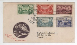 """Full Set Scott #785 786 737 738 739 Army Issue 5c Combo """"First Day Cover... - $9.89"""