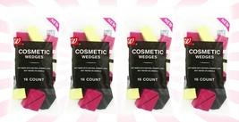 4 Walgreens Makeup Cosmetic Wedges Triangle Facial Sponge Applicator 16 ... - $17.86