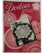 Doilies Luncheon Sets Table Runners Book No. 147 - $3.75