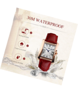 Women Analog Watch Quartz Wristwatch Business Casual Watch Unique Dress ... - $28.12