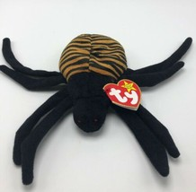 Ty Beanie Babies Spinner The Spider 1996 - $4.99