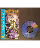 Heart Of The Alien - Out Of This World 1 & 2 (Sega CD 1994) Disc and Man... - $54.00