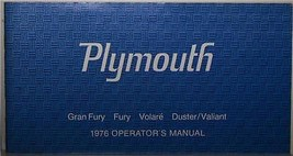 1976 PLYMOUTH FURY VOLARE DUSTER VALIANT OWNERS MANUAL PARTS SERVICE - $19.99