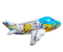 ANA Pokemon Jet Vinyl Balloon Airplane 1999s Japan Limited All Nippon Ai... - $55.15