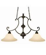 International Lighting Kitchen Island Chandelier Bronze Finish Hanging L... - $183.58