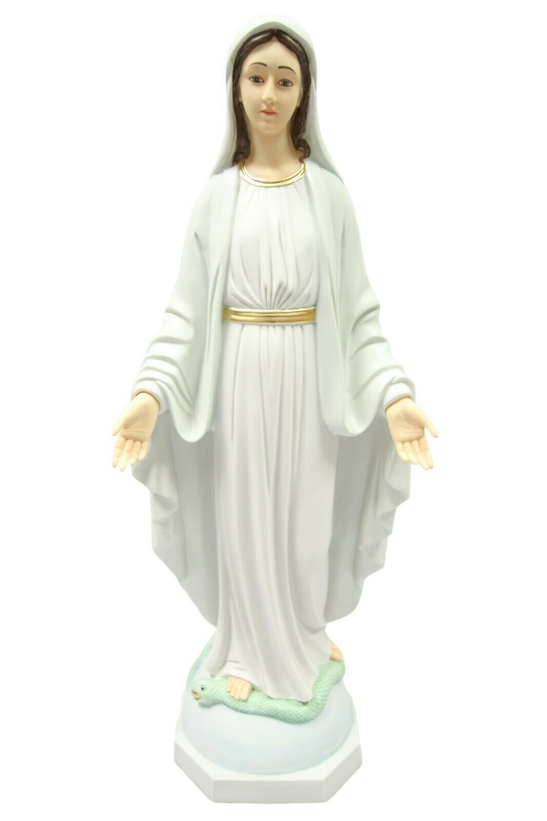 "Primary image for 31"" Our Lady of Grace Virgin Mary Mother Catholic Statue Vittoria Made in Italy"