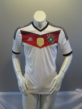 Team Germany Soccer Jersey - 2014 Hone Jersey by Adidas - Men's Small - $75.00