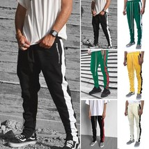 Men Jogger Sportwear Baggy Casual Harem Pants Slacks Dance Trousers Sweatpants - $26.52