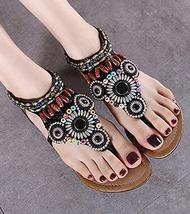 Brown Women Crystals Summer Sandals,luxury sandals,Gladiator & Strappy Sandals - $39.99