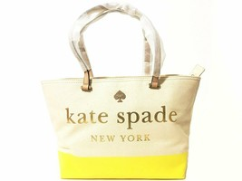 Kate Spade Large Canvas Tote Beige - £116.39 GBP