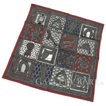 HERMES Carre 70 Scarf Cotton Le Boubou H Fashion Accessories Authentic 5... - $299.93