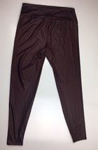 Charlotte Russe Red Faux Leather Spandex Leggings Size 1X - $14.99