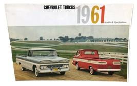 1961 Chevrolet Trucks Sales Brochure Buyer's Guide Dealer Car Advertising - $17.82