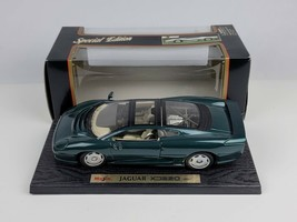 Maisto 1992 Jaguar XJ220 1:18 Die-cast Car 100% Stand & Box Green 31807 NEW - $49.54
