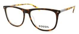 Fossil FOS 7030 N9P Men's Eyeglasses Frames 54-16-145 Matte Havana + CASE - $79.00