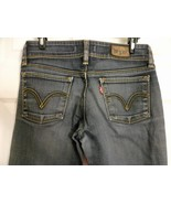 Womens Levi 571 'Slim Fit' Jeans - W 30 L 29 1/2 DARK Wash  Great Condition - $14.01