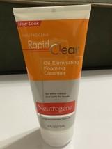 Neutrogena Rapid Clear Oil Eliminating Foaming Cleanser 6oz Acne Prone NEW - $29.69