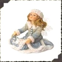 "Boyds Wee Folkstone Faerie ""Krystal Faeriefrost..First Snowfall"" #36027- 2003 - $29.99"
