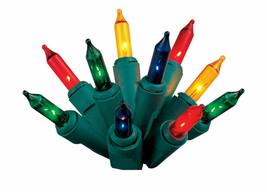 Celebrations 4121-71 Mini Light Set 6.3' 20 Multi-Color Lights UPC#84351... - $9.89