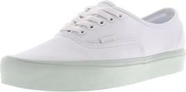 Vans Authentic Lite Sneakers POP PASTEL True White Mens 5.5 Womens 7 - $49.95