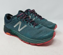 New Balance Sneakers Fresh Foam 1080 Hierro V2 Blue Pink Shoes 9.5 Womens - $25.47
