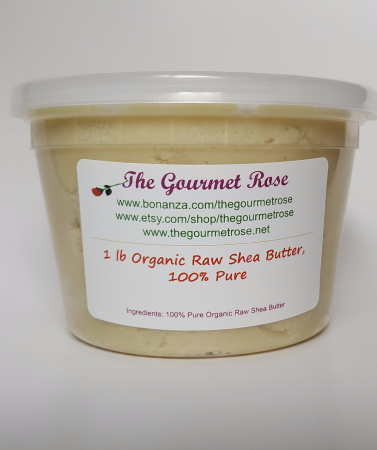 1 lb ORGANIC IVORY SHEA BUTTER UNREFINED Raw 100% Ghana White Natural Lotion - $9.95