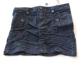 Miley Cyrus Max Azria Junior Size 9 Blue Scrunchy Skirt New Mini - $10.88