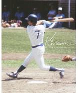 Vintage Chicago Cubs Bobby Murcer 1978 Orig Action PhotoArt Var Size Kod... - $4.44+