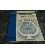 First Division Band Method Oboe Part Two 2 Belwin Mills - $9.99