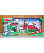 Little People Musical Christmas Train  NIB  Fisher Price  2003 - $31.00