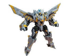 Tobot Silver Hawk Action Figure Toy Robot image 4