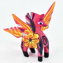 Handmade Alebrijes Oaxacan Wood Carved Folk Art Mini Pegasus Horse Figurine image 1