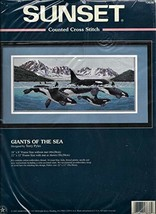 Giants of the Sea Counted Cross Stitch Kit - $54.45