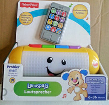 Fisher-Price Laugh & Learn Light Up Speaker for ages 6+ months - German ... - $258.95