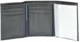 Tommy Hilfiger Men's Premium Leather Credit Card Id Wallet Trifold Black 5676-1 image 4