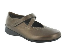 Wolky Women's Bronze Soft Metallic Leather Passion 37 M EU US 6-7 MSRP $169.99 - $128.69