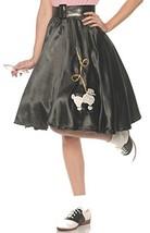Underwraps Women's 1950's Poodle Skirt Costume-Black, X-Large - £25.30 GBP