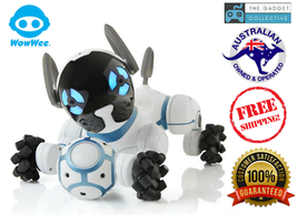 WowWee CHiP Robot Toy Dog with a personality Android Apple Phone Smartband - $272.48