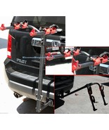 Hitch Mounted Two 2 Bike Bicycle Rack Carrier - Standard Hitch Receiver ... - $59.99