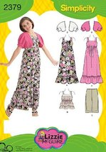 Simplicity Sewing Pattern 2379 Girl's and Girl's Plus Dress and Sportswear, BB ( - $9.60
