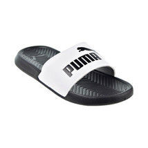 Puma Popcat Classic Women's Slides Black-White 361222-01 - $24.90