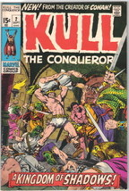 Kull The Conqueror Comic Book #2 Marvel Comics 1971 FINE+ - $11.64