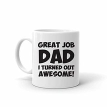 Funny Mugs for Dad for Father's Day, 11 oz. Ceramic Funny Mugs for Men, ... - $14.96