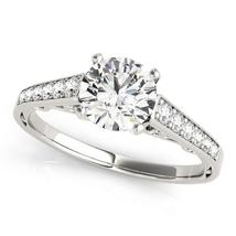 14k White Gold Cathedral Design Diamond Engagement Ring (1 1/4 cttw) - $5,301.93