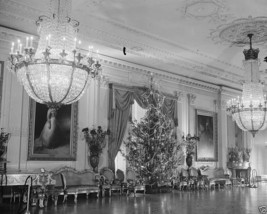 Christmas Tree in East Room of White House Washington DC 1936 - New 8x10... - $8.81
