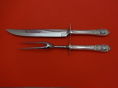 Primary image for Crown Princess by International Sterling Silver Roast Carving Set 2pc