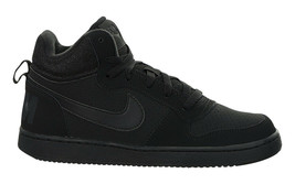 Nike Grade School Court Borough Mids Sneaker Black/Black 839977-001 - $65.00