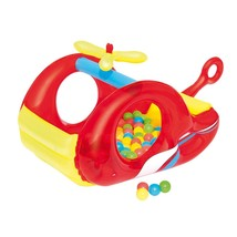 UP IN & OVER Inflatable Helicopter Ball Pit - £32.81 GBP